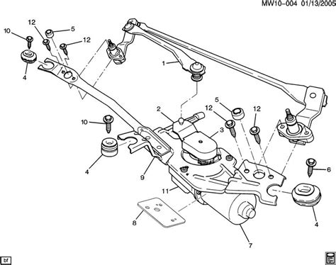 isuzu rodeo rear windshield wiper motor wiring diagram