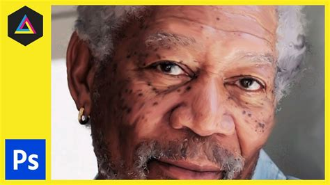 tutorial smudge painting cs5 smudge painting effect morgan freeman adobe photoshop