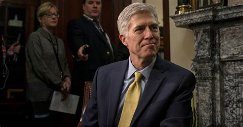 neil gorsuch new york times hearing for neil gorsuch supreme court nominee is set