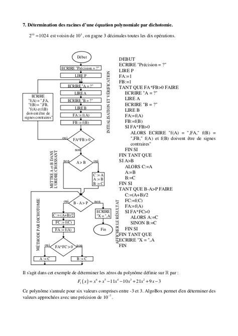 Algorithmique seconde (corrigés et commentaires)