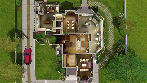Room Floor Plans by Mod The Sims Halliwell Manor Charmed No Cc Store