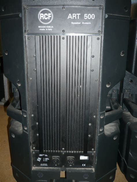 Speaker Aktif Rcf 500 rcf 500 image 272603 audiofanzine