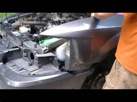 how to remove front fender off 1993 mercury how to remove take off a 1999 2004 ford mustang front fender youtube
