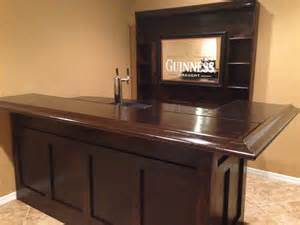 Diy Home Bar How To Build Your Own Home Bar Milligan S Gander Hill Farm