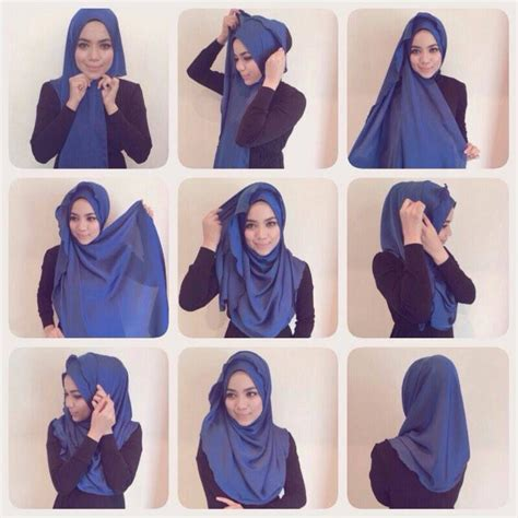 tutorial turban pashmina simple a simple step by step tutorial on how to style the half