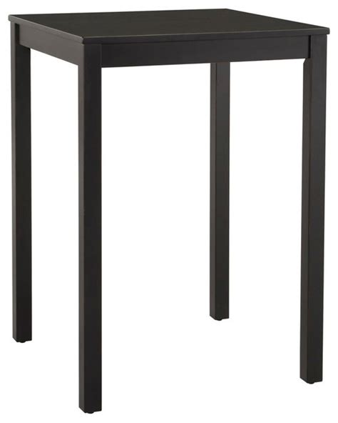 Nantucket Bistro Table Nantucket Bistro Table Black 42 Quot X30 Quot X30 Quot Indoor Pub And Bistro Tables By Harvey