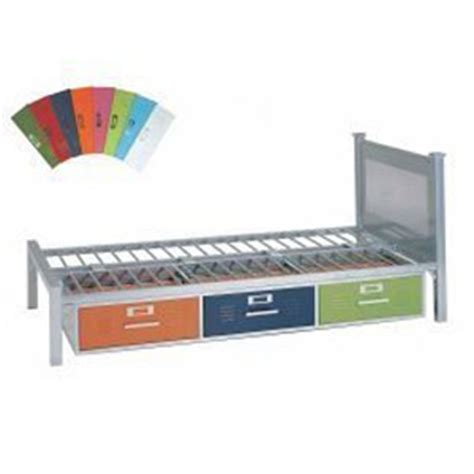 locker twin size bed with 3 drawers elite 35 6701 997 metal twin size bed with storage locker twin bed with 3