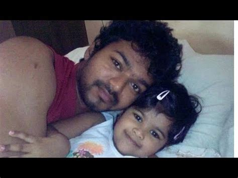 actor vijay daughter recent photos vijay daughter divya saasha photos 2013 youtube