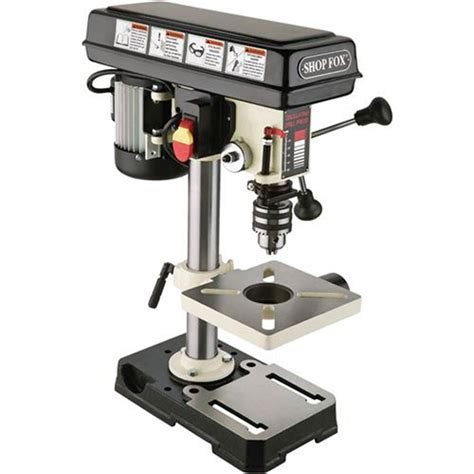bench drill press drill presses shop fox bench top oscillating drill press