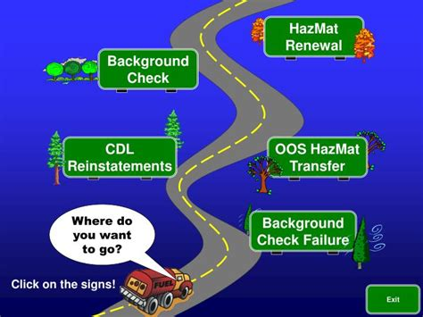 Dot Hazmat Background Check Ppt Hazmat Powerpoint Presentation Id 1779850