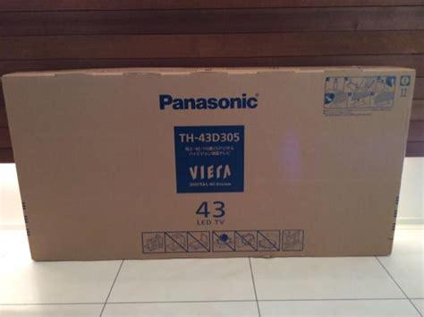 Led Panasonic 43d305 ヤフオク テレビ panasonic パナソニック viera led の落札相場 新品 中古品 終了分