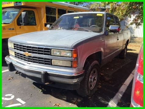 how petrol cars work 1992 chevrolet 1500 head up display used 92 chevrolet silverado 1500 4 3l v6 auto 4x4 work pickup truck no reserve classic