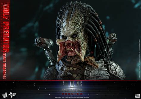vs predator toys aliens vs predator requiem wolf predator figure