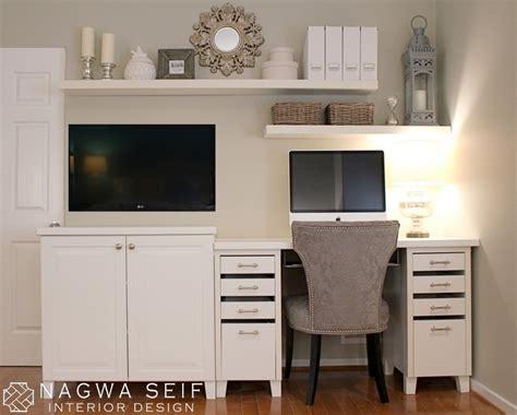 Master Bedroom Office Combo Design Nagwa Seif Interior Design Behr
