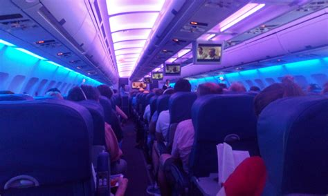 Air Transat A330 Interior by Air Transat From Dublin To Toronto And Vancouver Ittn