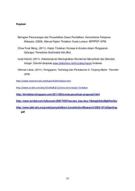 format proposal kajian proposal kajian tindakan matematik tahun1