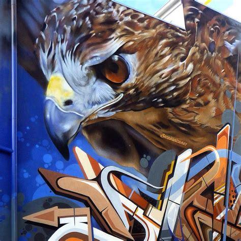 pin  marianna mariy  birds graffiti images street