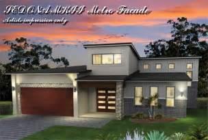 Tri Level House Style by Sedona Mkii Tri Level Metro Facade Skillion Roof