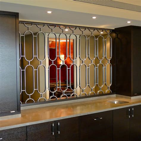 Entryway Divider Cold Rolled Steel Grill 5406 Contemporary Chicago