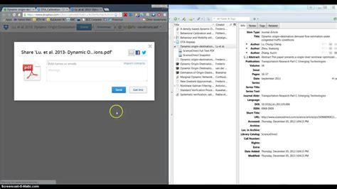 dropbox youtube videos link zotero and dropbox youtube