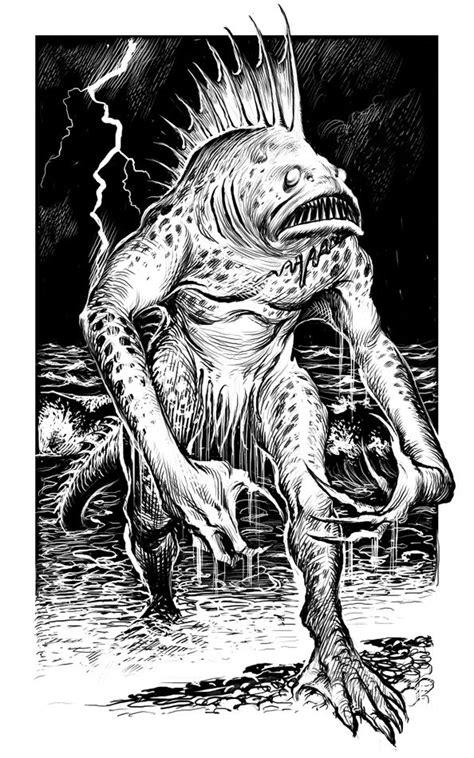Martin Mckenna Illustrator Cthulhu Mythos Horror