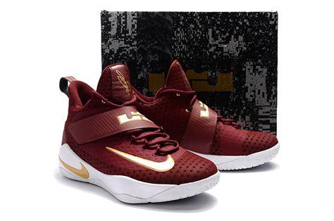 Sepatu Basket Nike Lebron Zoom Soldier 11 Cavs nike zoom lebron soldier 11 xi white basketball shoes zmshoes