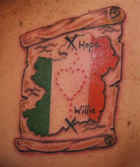 eire tattoo designs ireland tattoos fox designs