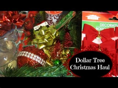 big dollar tree christmas decor haul november youtube