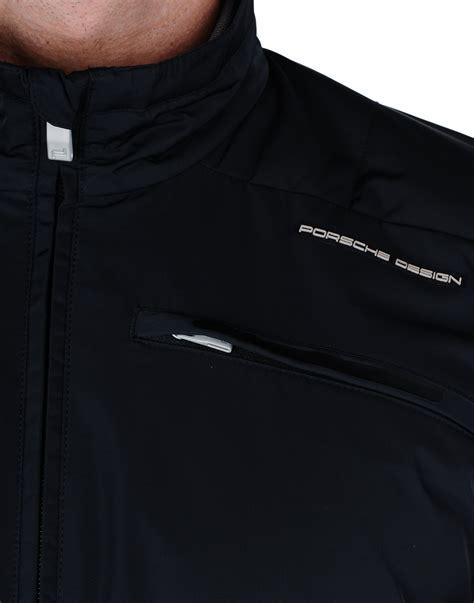 porsche design clothes uk porsche design jacket in black for men lyst