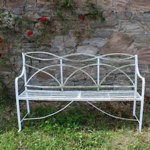 antique wrought iron garden bench antiques atlas antique regency wrought iron garden seat