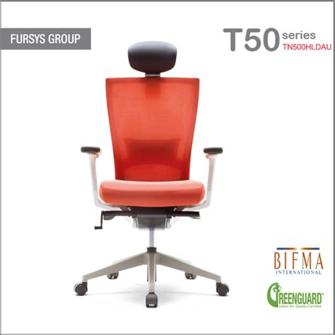 spine korean chair ergonomic office chair with mesh back fursys tn500hldasu