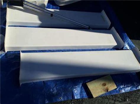 carolina skiff bench seat carolina skiff oem 65 quot white bench seat ebay