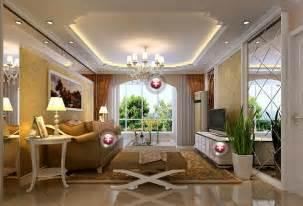european style living room ceiling interior design