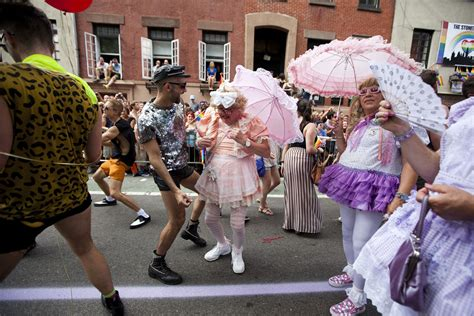 gay section of nyc gay pride the world through rainbow colored glasses
