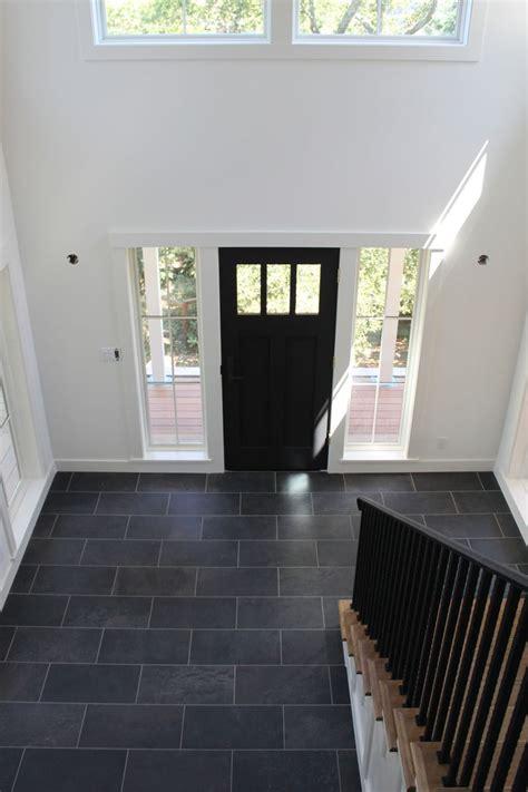 door accent colors for greenish gray white walls black door and tile floor all that s