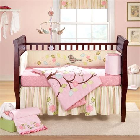 buy cheap love bird 4 piece crib bedding set black friday