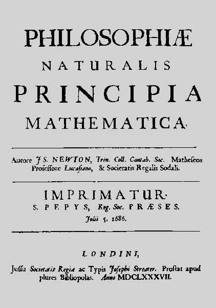 la cometa di halley testo newton biografia