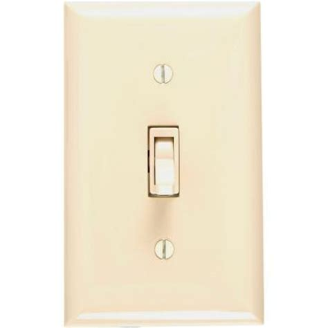 ge toggle on dimmer switch ivory 52131 the home depot
