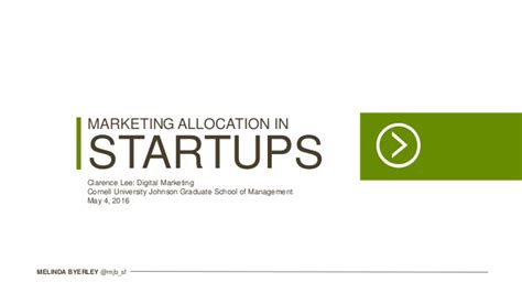Cornell Marketing Mba Certificate by Digital Marketing Cornell Mba May 2016