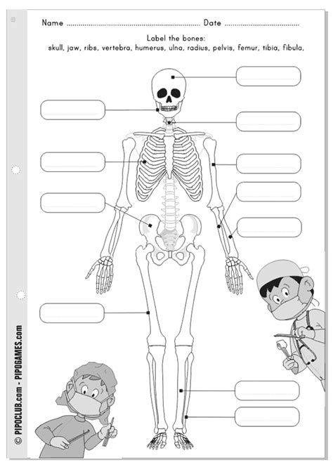 printable label the skeleton label me printable bones skeleton pipo by evapipo