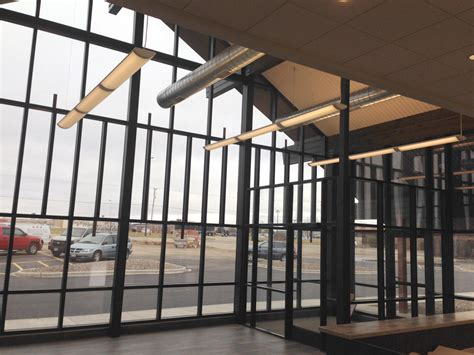 maximum glass size curtain wall pictures commercial window replacement new installation