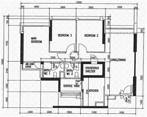 hdb floor plan floor plans for fernvale road hdb details srx property