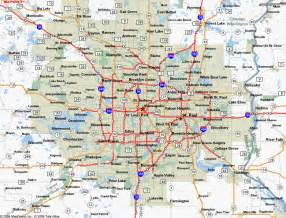 Twin Cities Metro Map by Minneapolis Map Free Printable Maps