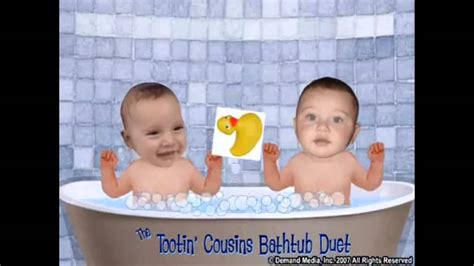 tootin bathtub baby cousins short version tootin bathtub baby cousins official
