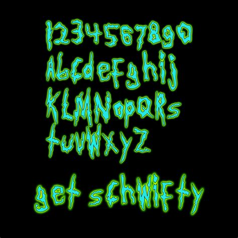 Dafont Rick And Morty | get schwifty a rick and morty font by jonizaak on deviantart