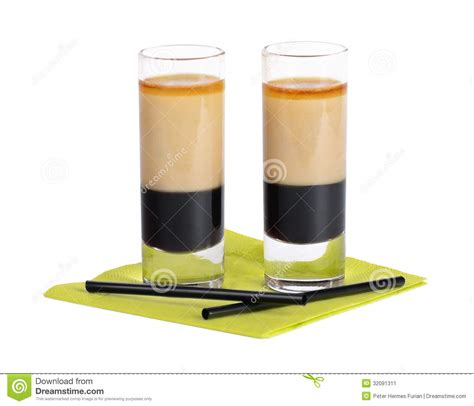 B52 Cocktail Shooter Stock Image   Image: 32091311