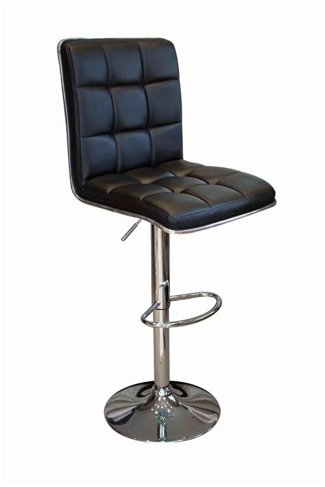 Atlantic Kitchen Stools review of black leather style panelled atlantic funky