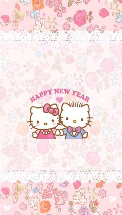 hello kitty new year wallpaper 1191 best images about hello kitty wallpapers on pinterest