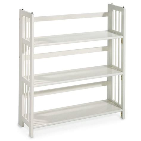home depot white bookcase hton bay 5 shelf standard bookcase in white thd90004 1a