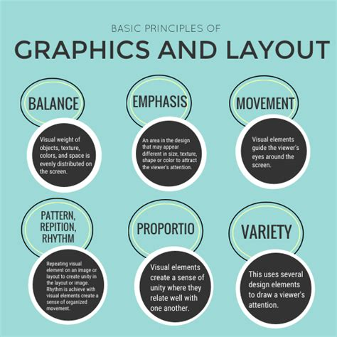 graphic design layout principles basic principles of graphics and layout by camille